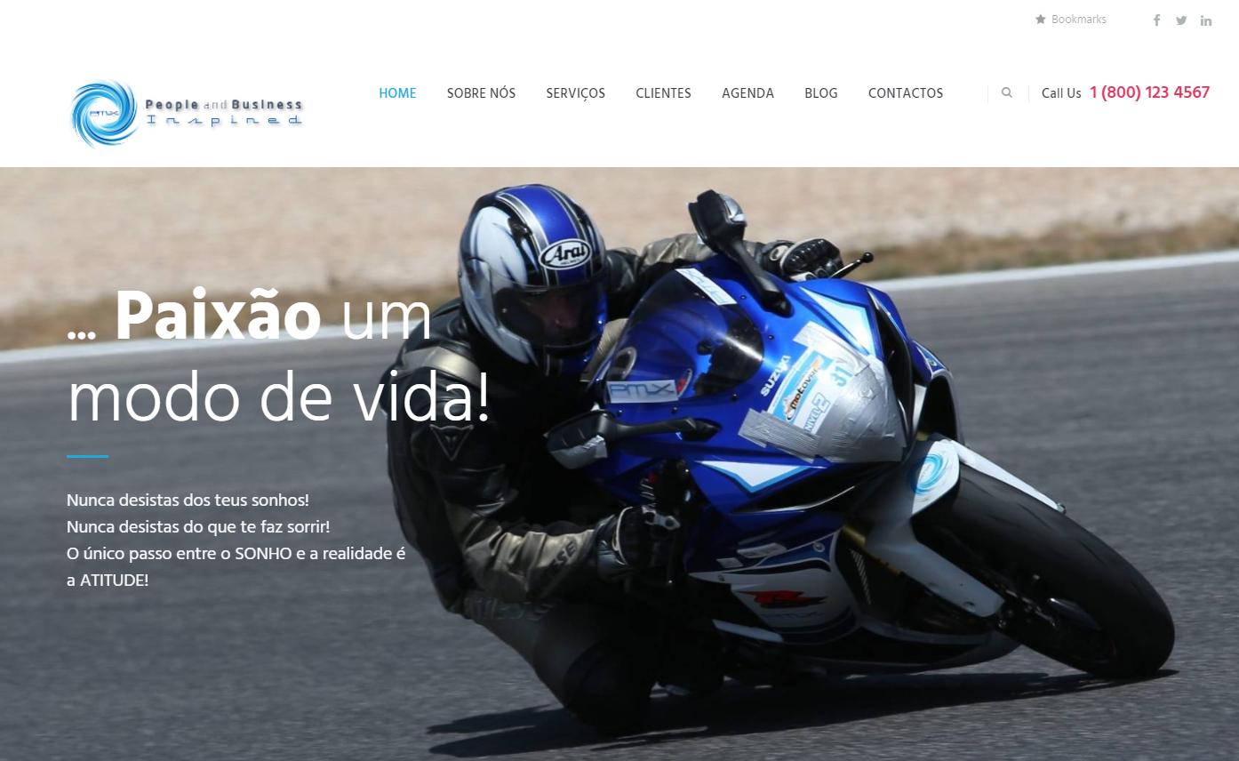 Novo Website da PMX acaba de ser lançado